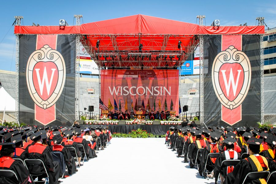 UW-Madison Commencement 2016