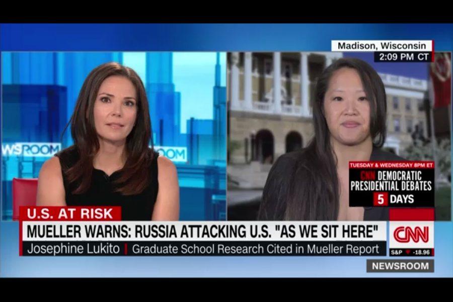 Josephine Lukito on CNN
